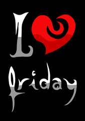 Love friday message