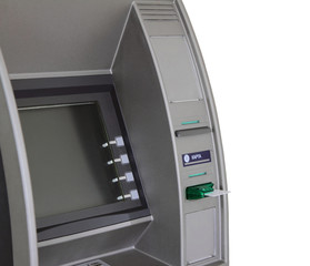 ATM with anti-skimmer