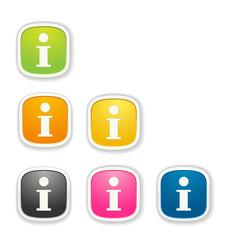 the info icon set