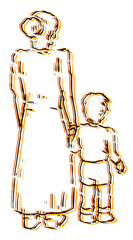 Art family draw