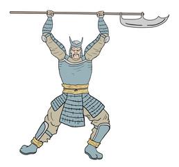 Armor samurai