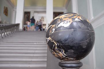 Esfera de mármol