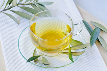 Olive leaf herbal tea. Dietary Supplements.