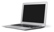 Imac. silver laptop on a white background isolated - 80031751