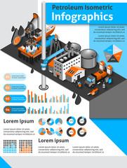 Petroleum Isometric Infographics