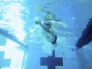 76 year old competitive swimmer