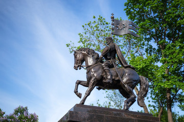 The monument to Dmitry Donskoy