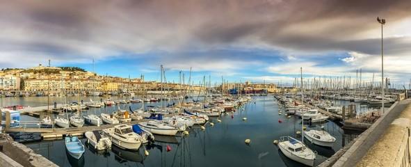 Port de plaisance à Sète