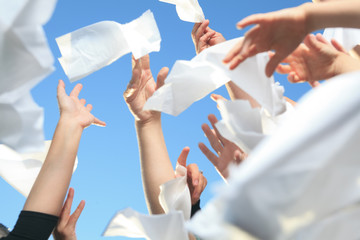Handkerchief on the Sky