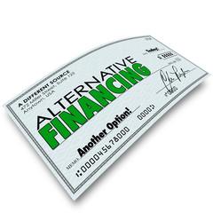 Alternative Financing Check Borrow Money Loan Different Source B