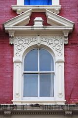 Renaissance window in London, UK