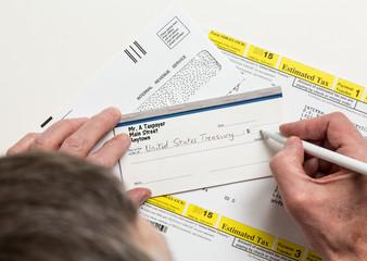 US IRS Tax form 1040-ES