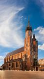 St. Mary's church in Krakow, Poland - 80047308