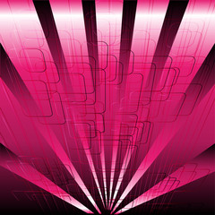 Abstract business or technology pink background