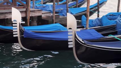 Venice Gondolas Close Up