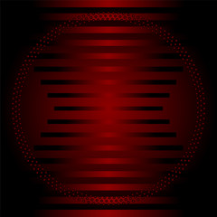Stripe circle dark red Background  template