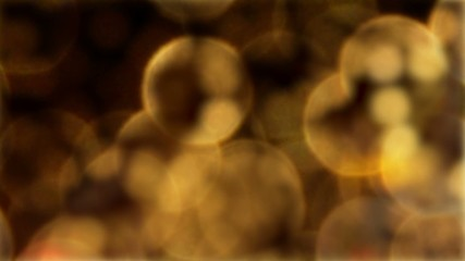 Swirling patterns of golden light, abstract