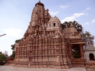 UNESCO world heritage site: Khajuraho Temple
