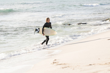 Surfing makes me feel alive