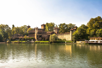 Castle in the Medieval Village, Turin
