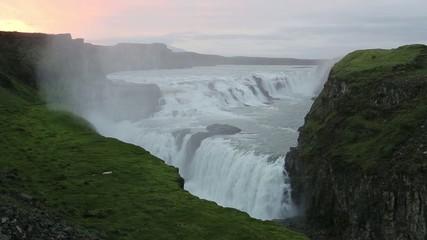 Gullfoss, Golden Waterfall, Iceland