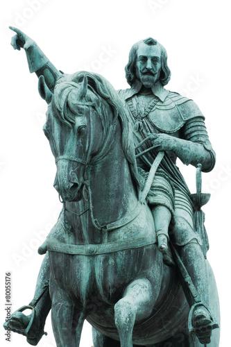 Leinwanddruck Bild Reiterdenkmal Kurfürsten Maximilian I München