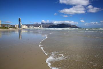 The Strand. False Bay. South Africa