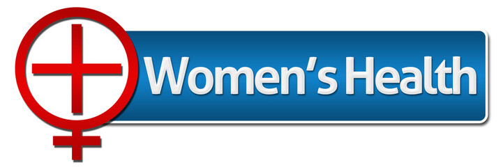 Women Health With Related Symbol