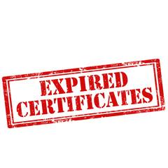 Expired Certificates-stamp