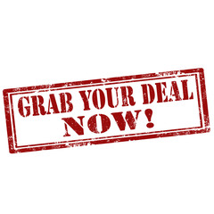 Grab Your Deal Now!-stamp