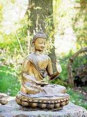 Small statue of Buddha