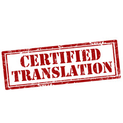 Certified Translation-stamp