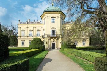 Buchlovice castle in Moravia, Czech republic