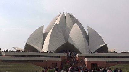 Lotus Temple or Bahai House of Worship, New Delhi