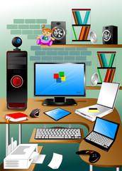 desktop for graphics