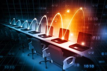 Global Computer network .