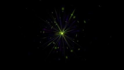 Flickering bright  stars