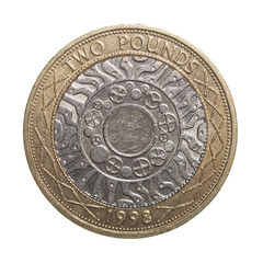 Two pounds coin