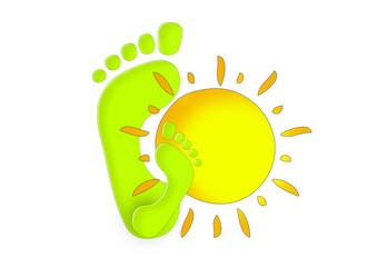 Füsse Sommer / Summer Feets
