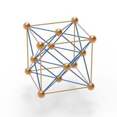 金の結晶構造