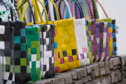canvas print picture modische Handtaschen
