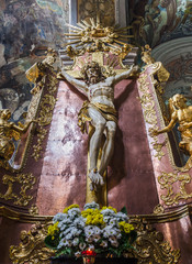 Crucifixion of Christ at the Saints Apostles Peter and Paul