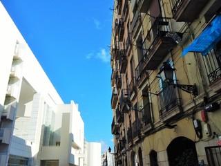 Neu und alt in Barcelona