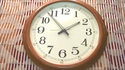 Wall Clock -Time-lapse2