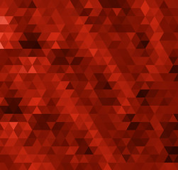 abstract red bacground from triangles