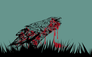 BLOODY CROW