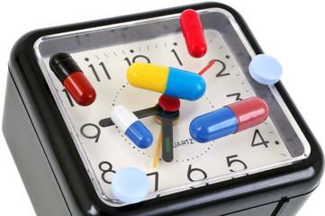 L'heure de la prise de médicament