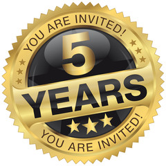 5 years - you are invited!