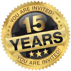 15 years - you are invited!