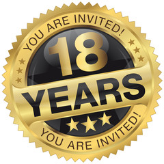 18 years - you are invited!